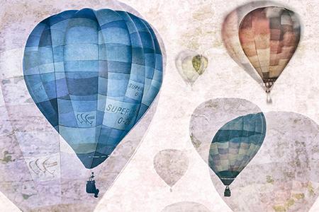 Ballons mélangés