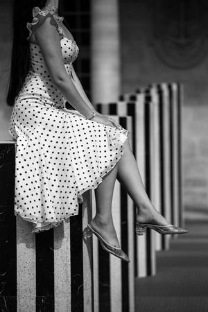 La robe à pois