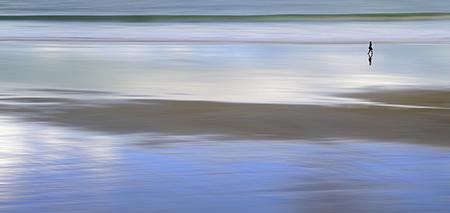 Lissée par la mer