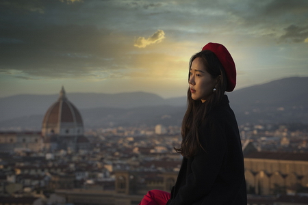 Pause à Florence